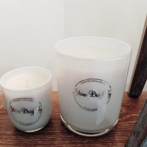 Small Shine Brightly Candle